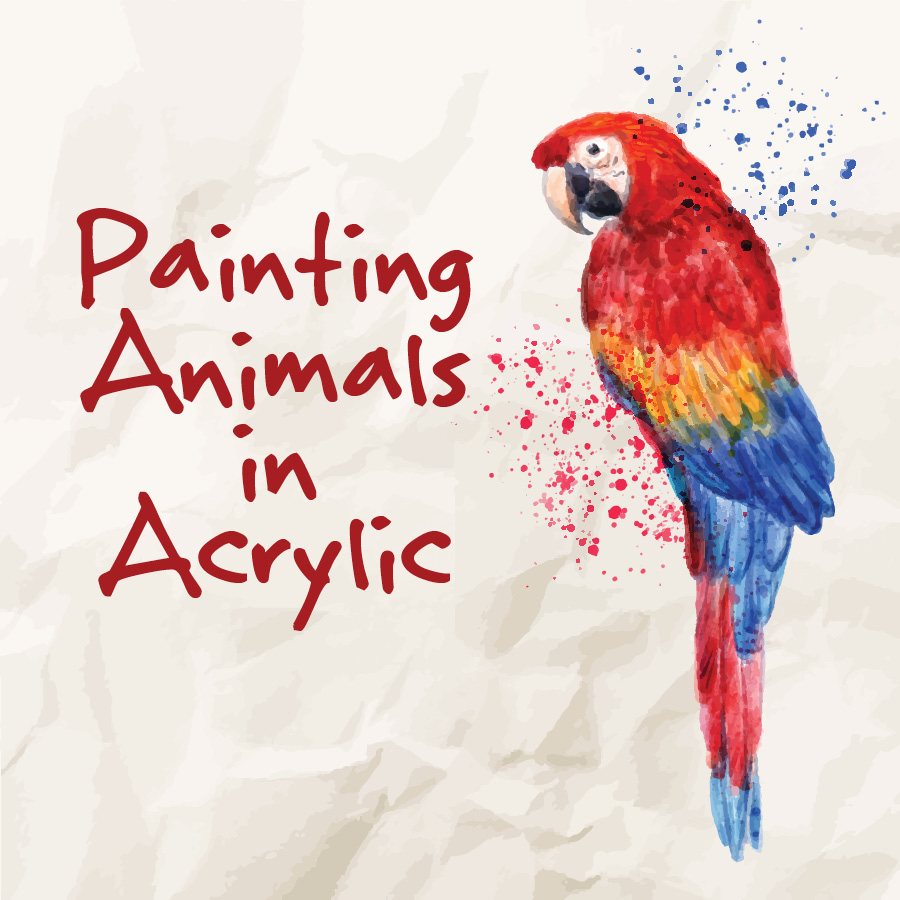 Painting Animals in Acrylic